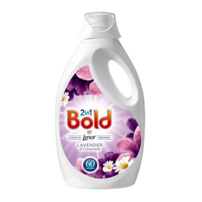 Image of Bold 2 In 1 Liquid Lavender and Camomile 60 Washes