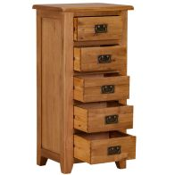 See more information about the Somerset 5 Drawer Tall Chest of Drawers