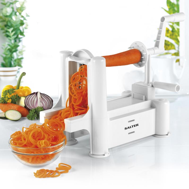 Salter Spiralizer Vegetable Slicer - Buy Online at QD Stores