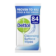 See more information about the Dettol Cleansing Surface Wipes 84 Pack