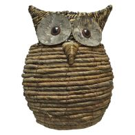 See more information about the Wise Owl Rattan Planter Large