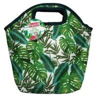 See more information about the Lunch Tote Beach Picnic Cooler Bag - Leaf Design
