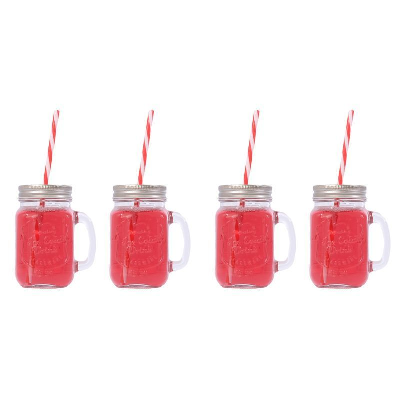 4 Pack of Mason Jars with Lids