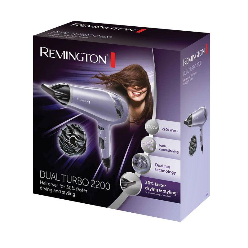 Remington Hair Dryer Dual Turbo 2200