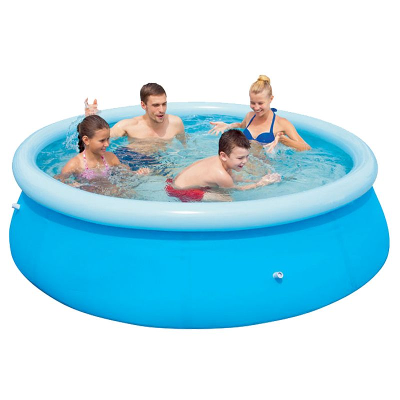 Paddling pool 8 foot buy online at qd stores for Large paddling pool