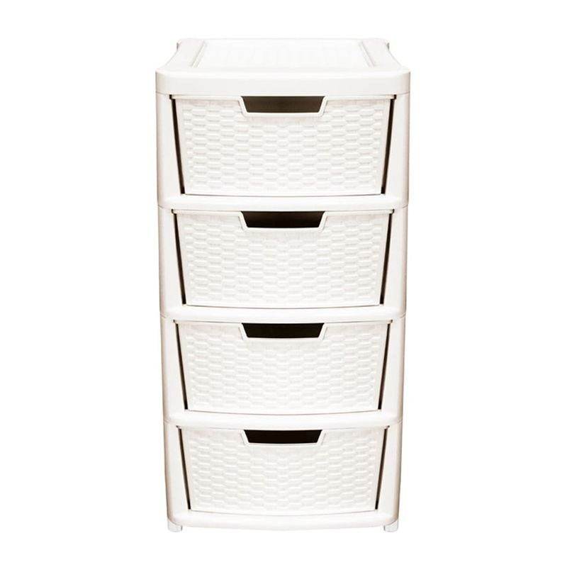 135L Premier 4 Drawer Plastic Storage Tower Cream  sc 1 st  QD Stores & 135L Premier 4 Drawer Plastic Storage Tower Cream - Buy Online at QD ...