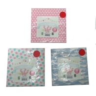 See more information about the 30 Pack of Lunch Napkins - Pink with White Hearts