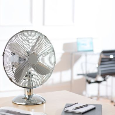 10 Inch Chromed Desk Fan