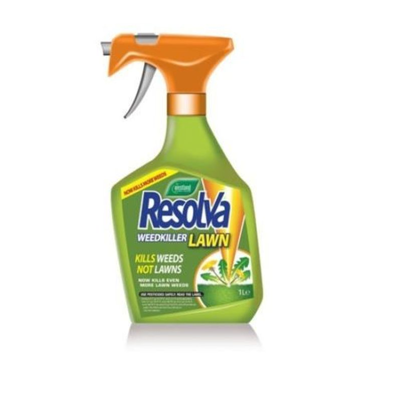 Westland Resolva Lawn Weedkiller 1 Litre Extra Ready To Use