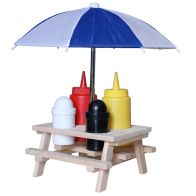 See more information about the Picnic Bench Condiment Holder