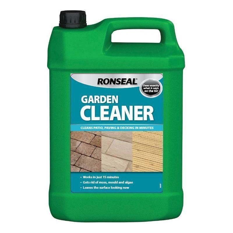 Ronseal garden cleaner buy online at qd stores for Garden accessories online
