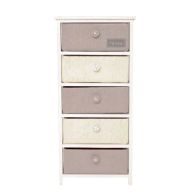 See more information about the Ashley 5 Bedside Chest Of Tall Drawers