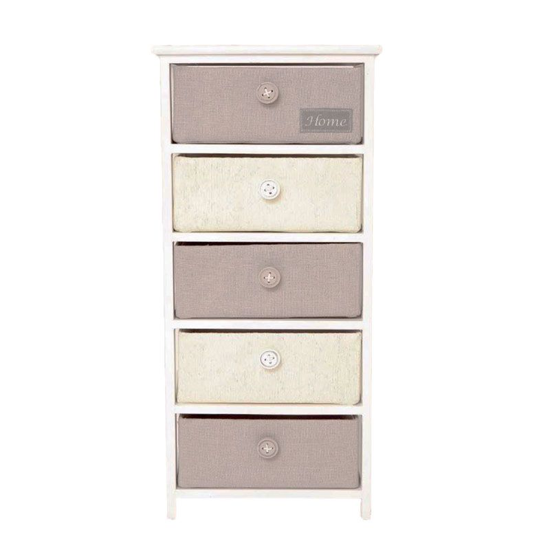 Ashley 5 Bedside Chest Of Tall Drawers