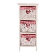 See more information about the Rosie 3 Bedside Chest Of Drawers