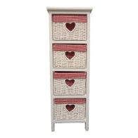 See more information about the Rosie 4 Chest Of Drawers