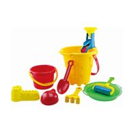 See more information about the Large Beach Sand Bucket Toy Set