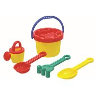 See more information about the Small Beach Sand Bucket Toy Set
