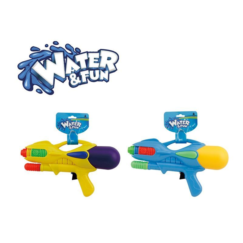 Water Pistol 32cm (Blue & Yellow)