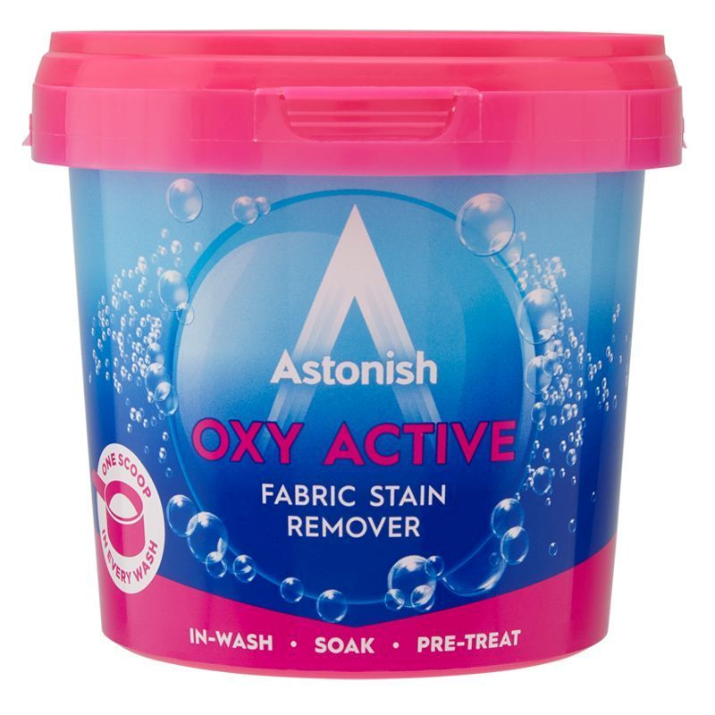 Astonish Oxi Active Removes Tough Stains Non Bio 650g
