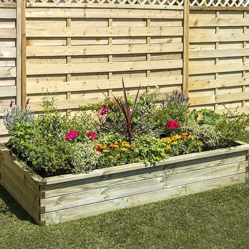 Sleeper Garden Raised Bed