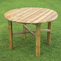 See more information about the Abbey Round Garden Table