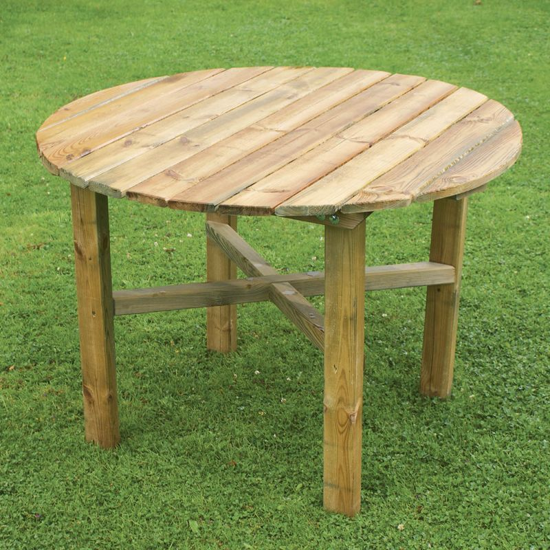 Abbey Round Garden Table