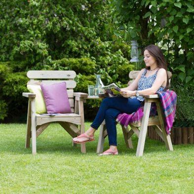 Abbey Garden Companion Seat