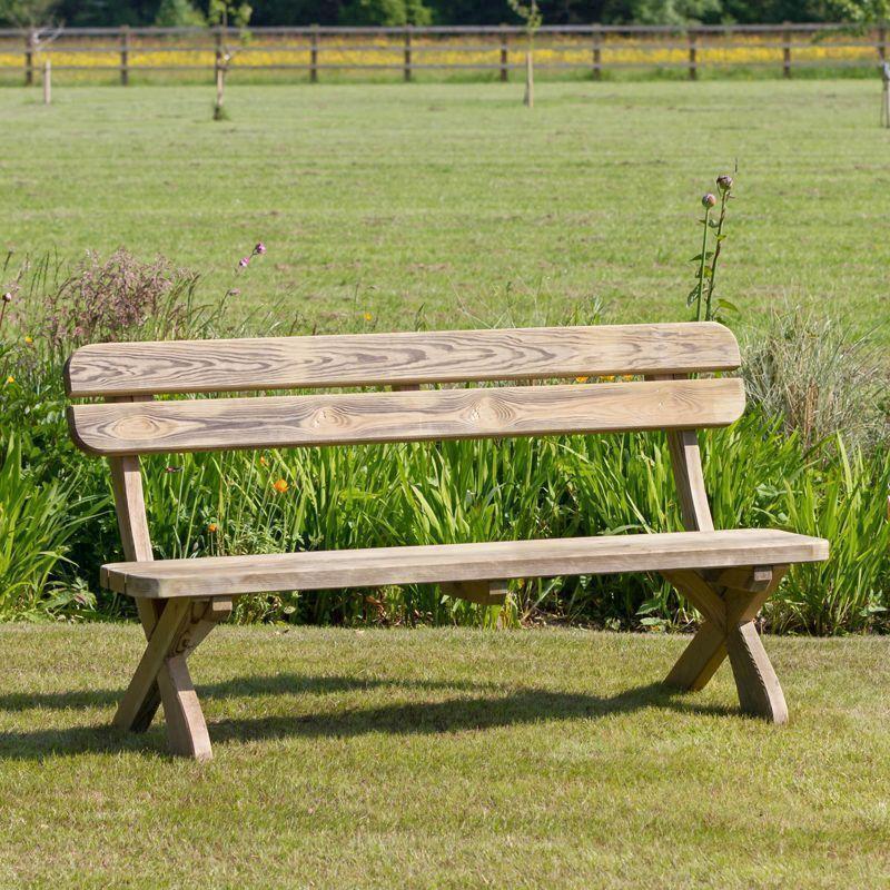 Wooden Garden Benches B Q: Buy Online At QD Stores