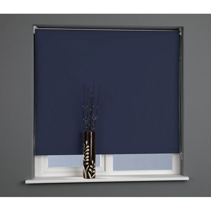 Midnight 120cm Blackout Roller Blind
