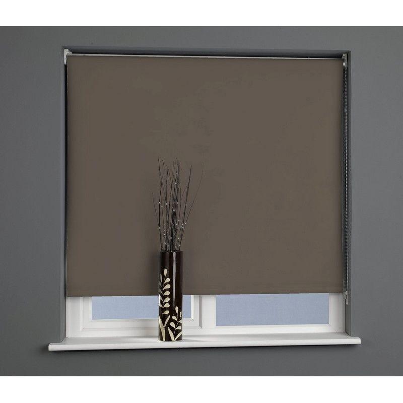 sun lover chocolate 60cm blackout roller blind buy. Black Bedroom Furniture Sets. Home Design Ideas