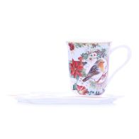 See more information about the Robin Mug Saucer Gift Set