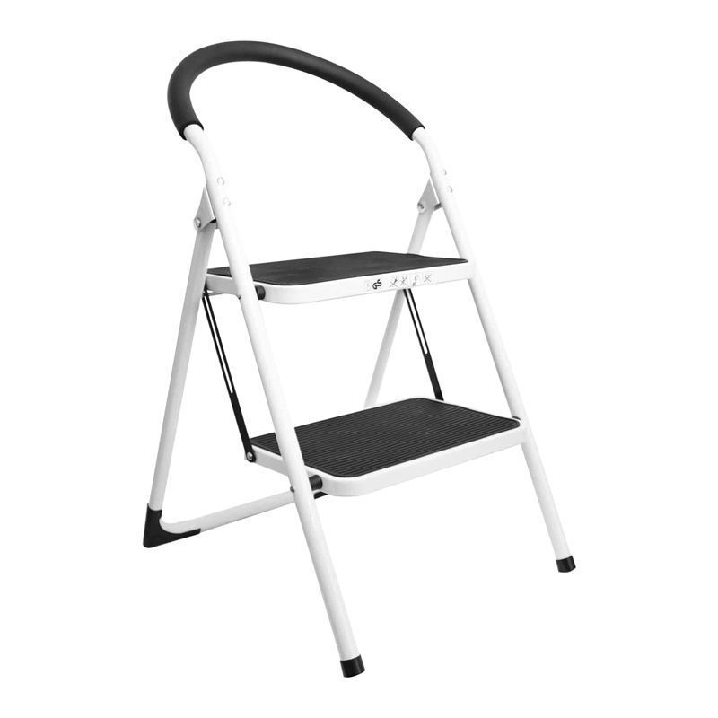 Tool Tech 2 Step DIY Homeware Ladder With Rubber Grip