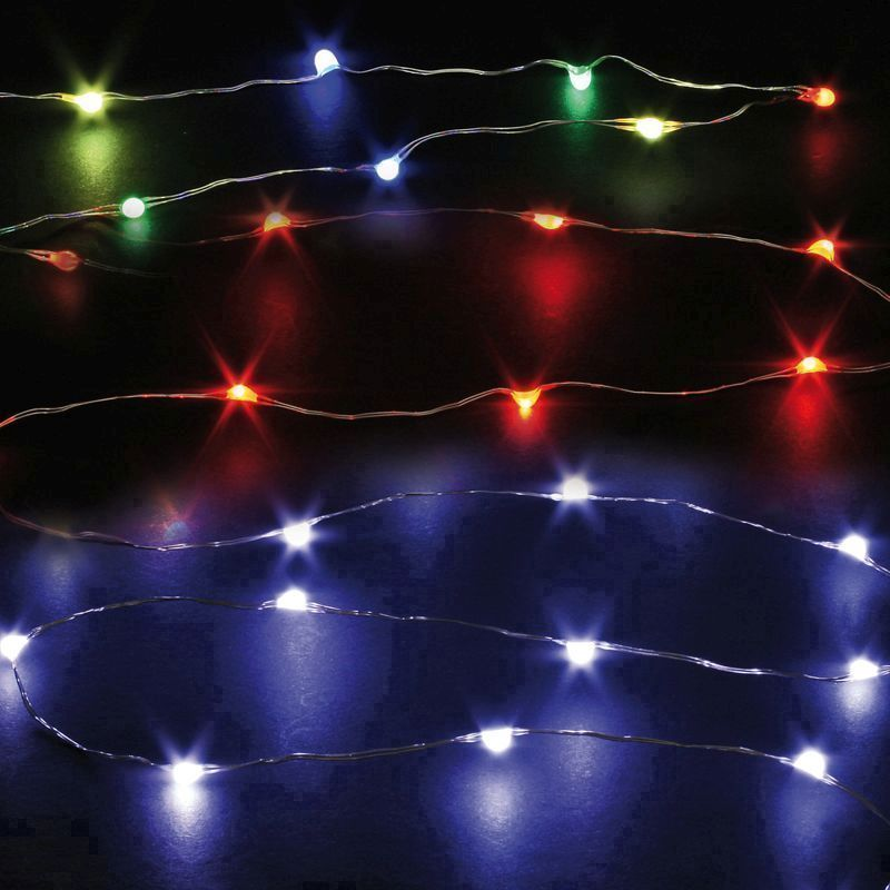 20 Bulb Multi Colour String LED Lights