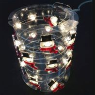 See more information about the Snowman Head Lights (20 Bulb)