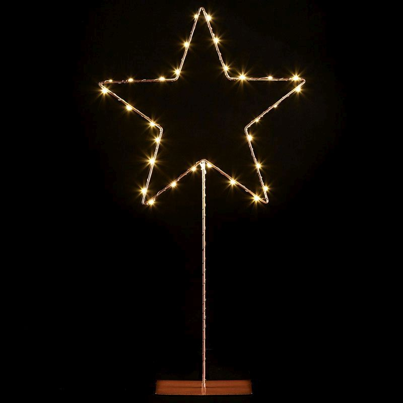 Copper LED Star Decoration