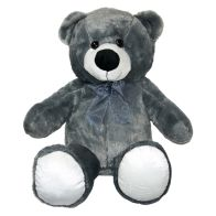 See more information about the 40cm Sitting Bear Jack Grey Soft Toy