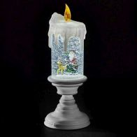 See more information about the LED White Glitter Candle Flicker