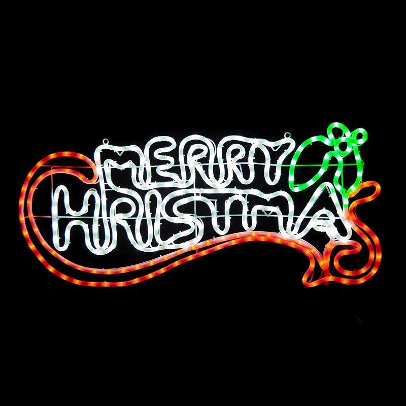 LED Merry Christmas Rope Light