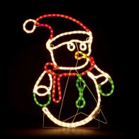 See more information about the Snowman LED Christmas Rope Light