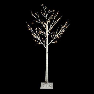 180cm Birch Tree LED Warm White