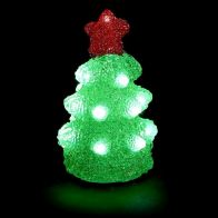See more information about the 17cm Acrylic Tree Star Red
