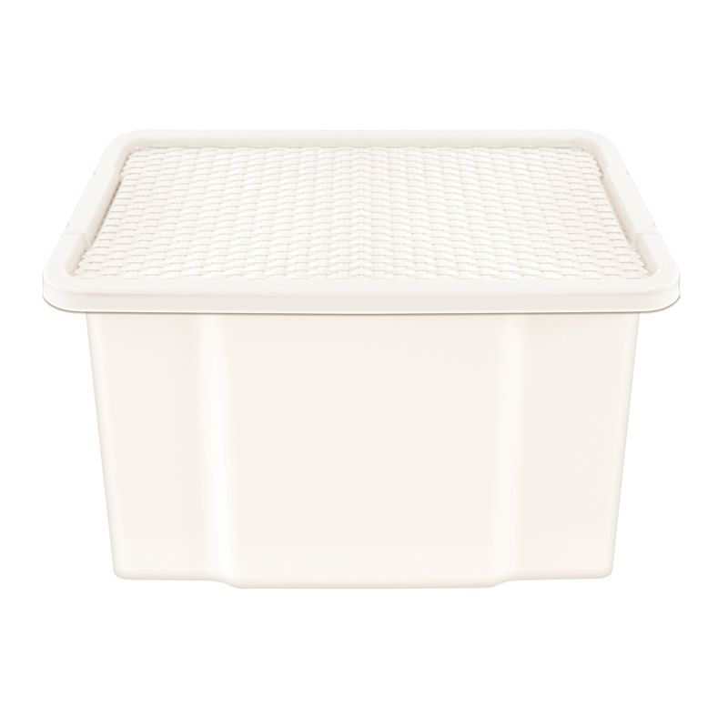 27 Litre Storage Box Cream Base