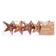 See more information about the Pack of 5 Copper Stars (6cm)