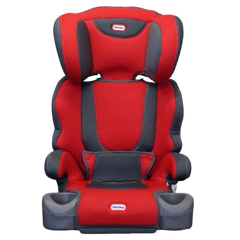 Little Tkes High Back Booster Car Seat Red