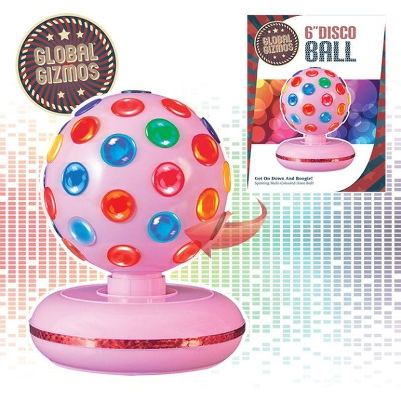 6 Inch Disco Ball Pink
