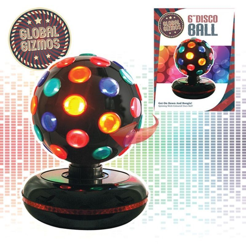 6 Inch Disco Ball Black