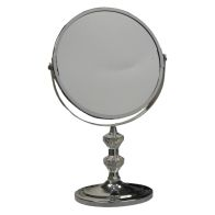 See more information about the Chrome Plated Metal Bathroom Mirror