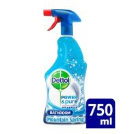 See more information about the Dettol Power & Pure Advance Bathroom Cleaner Mountain Spring 750ml