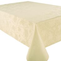 See more information about the 52x70 Tablecloth Cream Garland