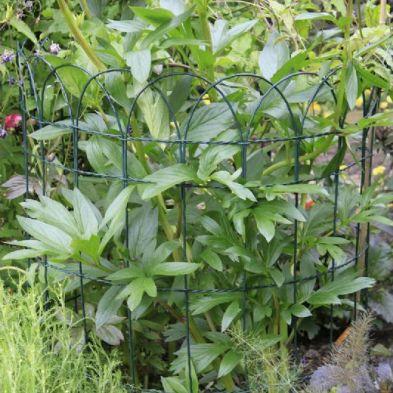 0.4m x 10m Hood Top Garden Fencing Green